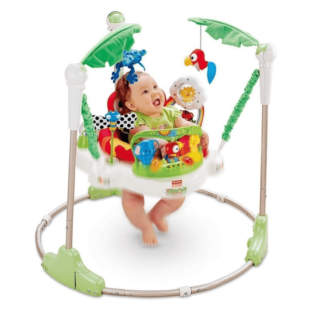 Rainforest Jumperoo Walker (Green and White, K7198)