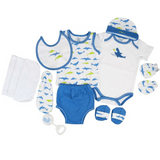 Lilsoft New Born Baby's Clothing Gift Set Box of 12 PCS For Boys #4356