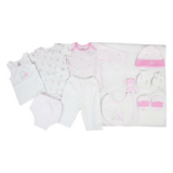 LILSOFT New Born Baby's Clothing  Gift set Box of 10 PCS For Girl #00568