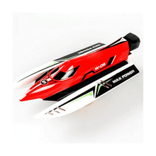 Load image into Gallery viewer, Wltoys Speed Boat Remote Control High Speed 45KMH - 2.4GHZ - Rc Boat - Red Color
