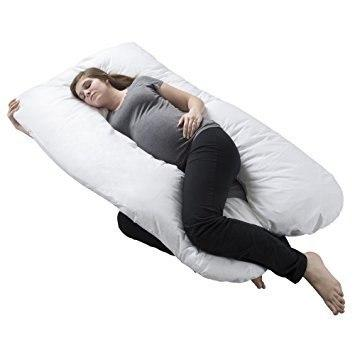 Pregnancy Pillow Maternity Belly Contoured Body U Shape Extra Comfort Cuddler
