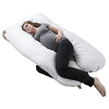Load image into Gallery viewer, Pregnancy Pillow Maternity Belly Contoured Body U Shape Extra Comfort Cuddler