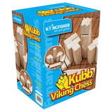 Kingfisher Wooden Viking Chess Kubb Set