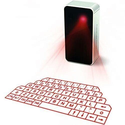 Projection Laser Keyboard and Mouse with audio speaker for Android IOS Smart phone Tablets PC Laptop