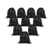 Load image into Gallery viewer, Durable Polyester Drawstring Tote Bags (Pack of 10) - SquareDubai