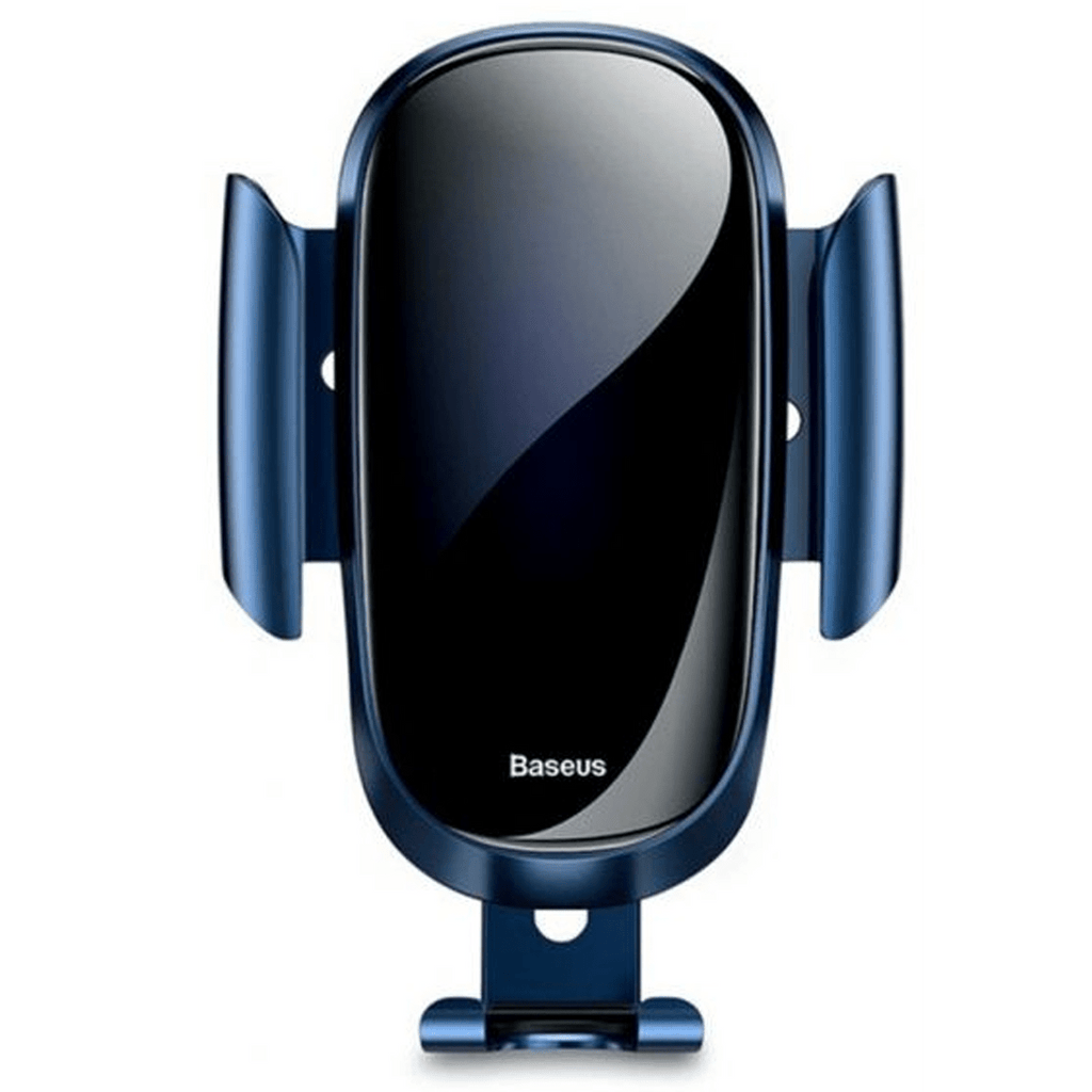Mobile Phone holder Metal Gravity Car Air Vent  By Baseus - Blue