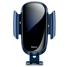 Load image into Gallery viewer, Mobile Phone holder Metal Gravity Car Air Vent  By Baseus - Blue