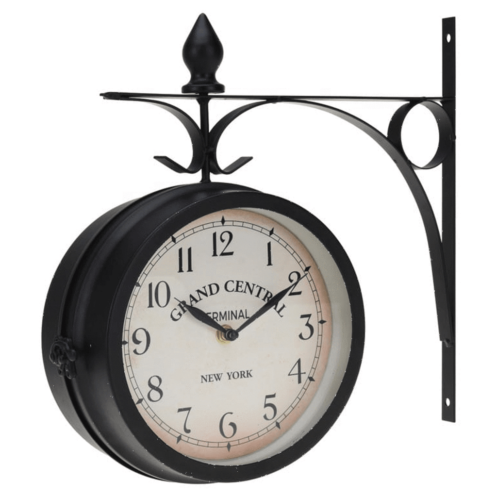 Analog Wall Clock with Metal Hanger (33 cm)