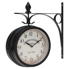 Load image into Gallery viewer, Analog Wall Clock with Metal Hanger (33 cm)