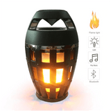 Bluetooth Speaker Portable Wireless Bluetooth Loudspeaker with LED Flame Light