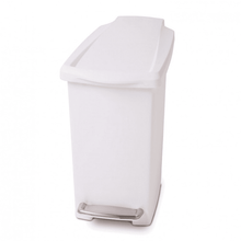 Load image into Gallery viewer, Simplehuman Slim Pedal Bin, 10L White