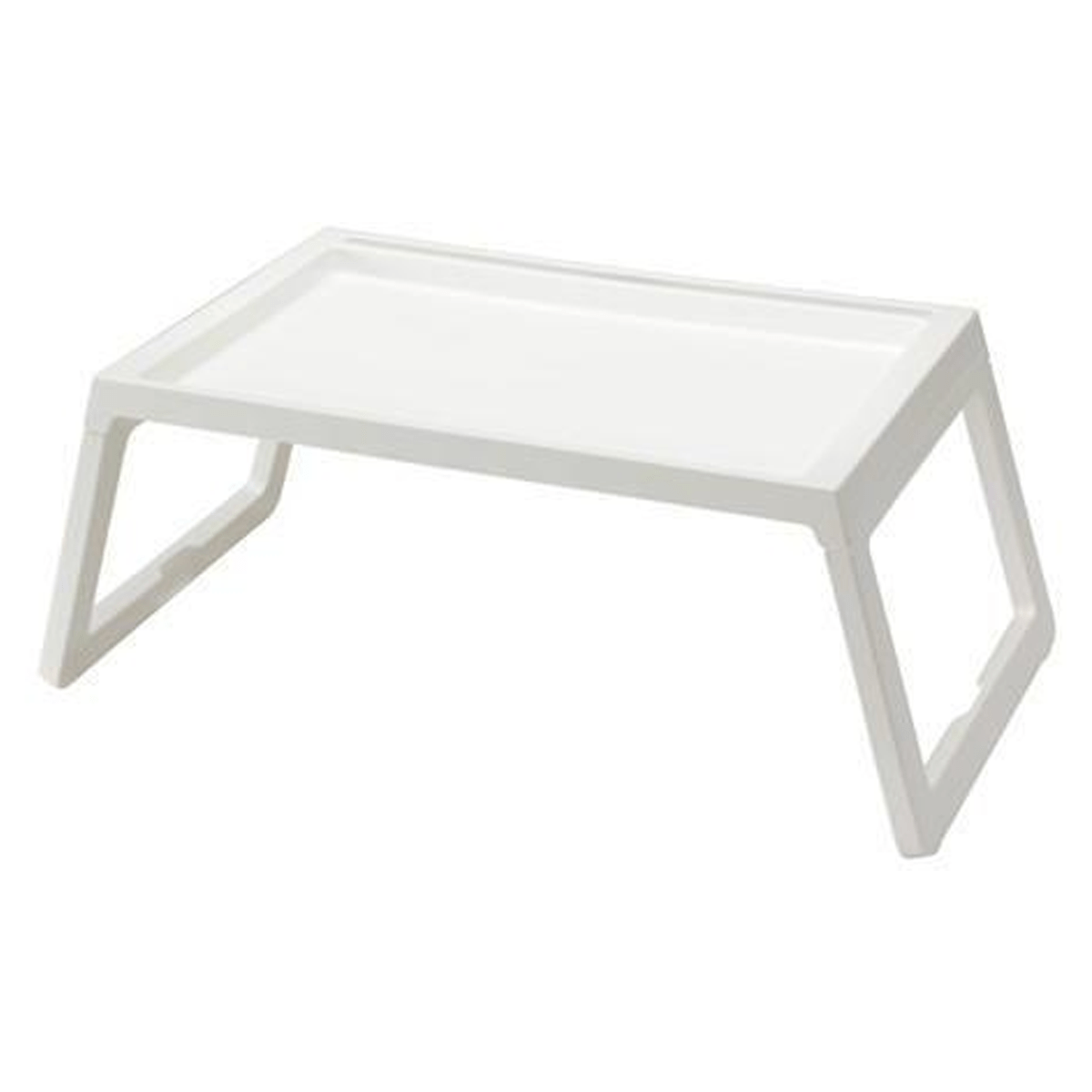 Foldable Bed Tray-White