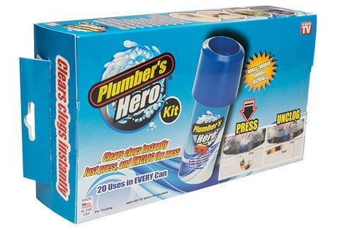 Plumber Hero Kit For Clogs Drains
