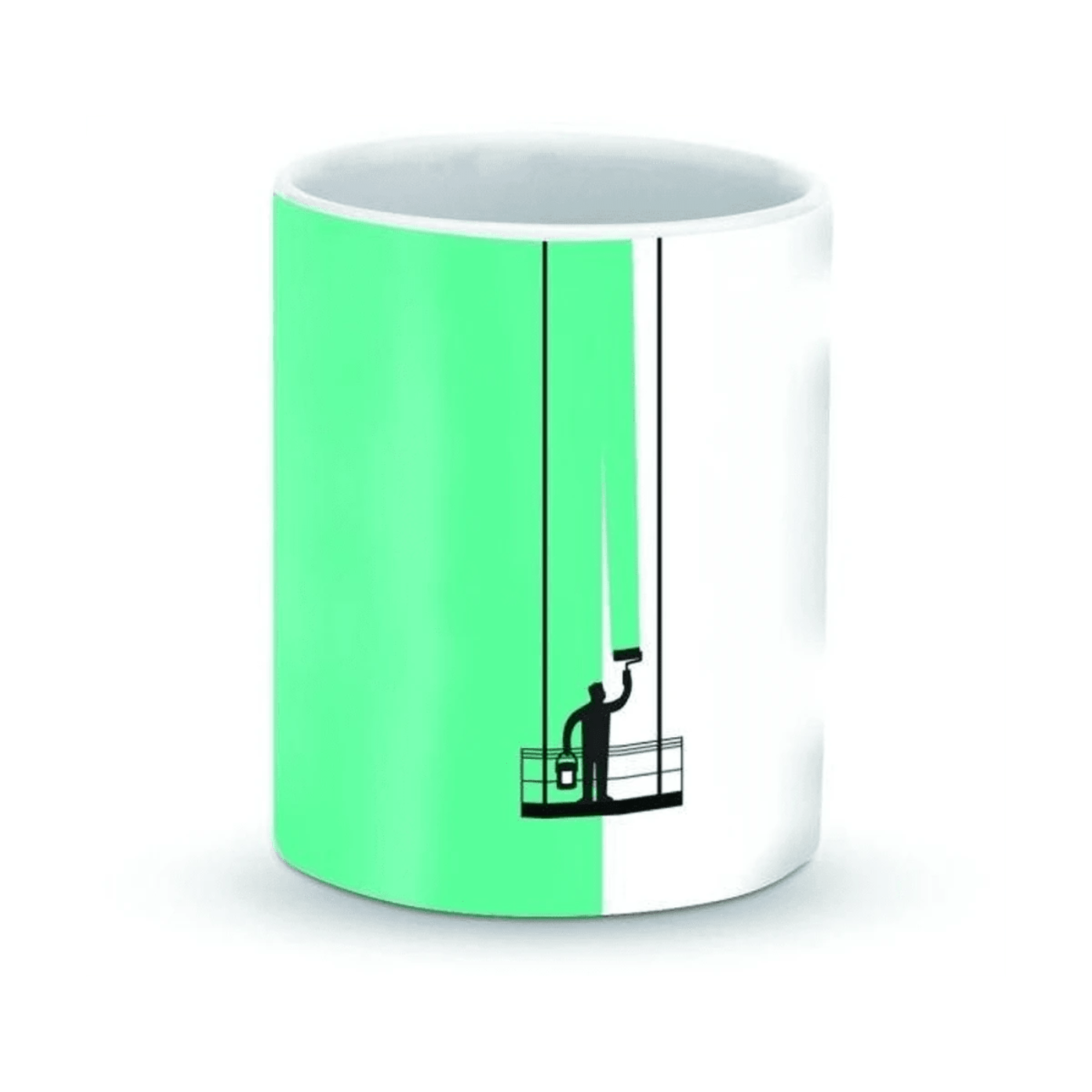 ceramic-designer-mug-paint-hanger-green