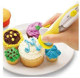 Battery Powered Frosting Deco Pen Cupcake Decorating Cakes - SquareDubai