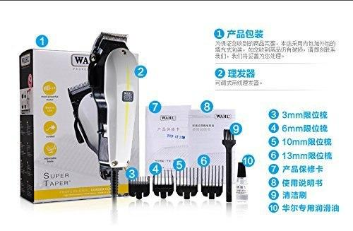 Wahl 120v Clipper Prof Super Taper, Corded # 8466