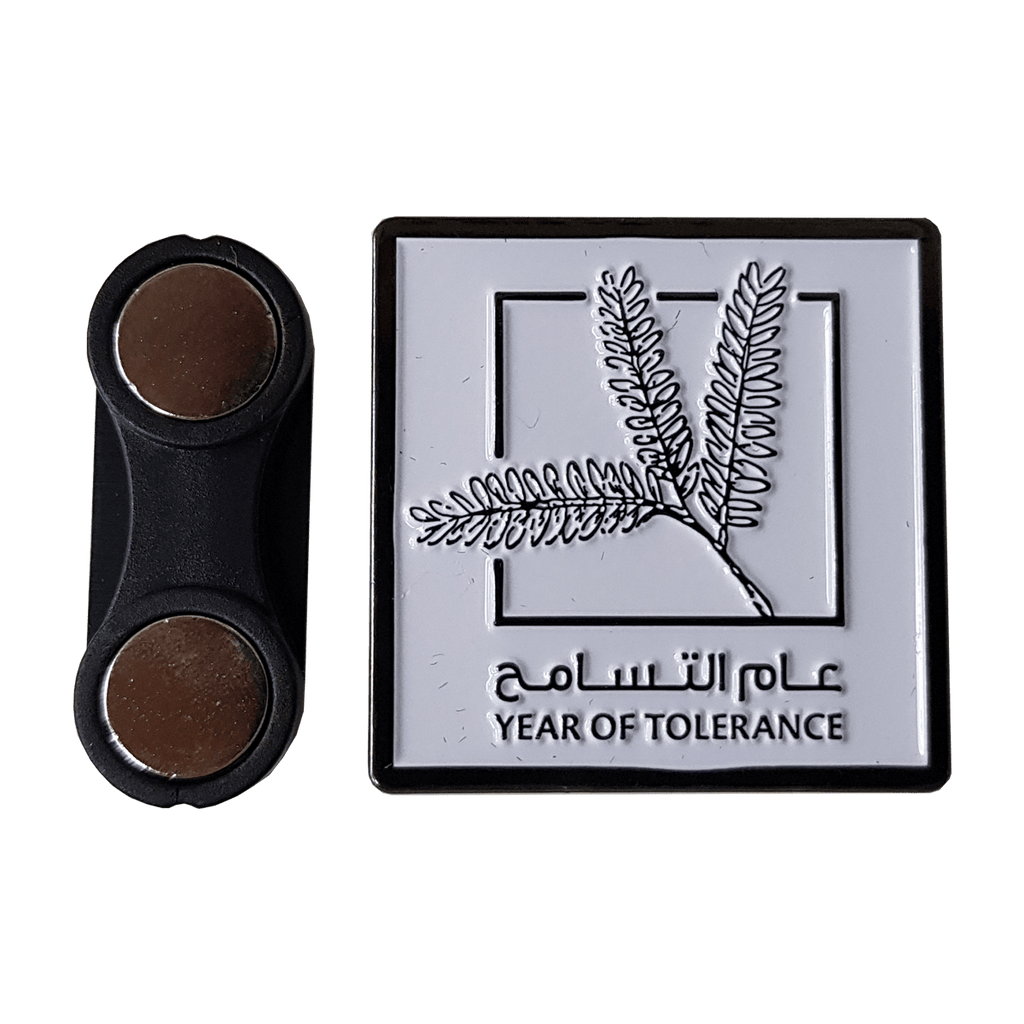 Year of Tolerance Badge with Gift Box 1 Pcs Pack (3 Branches)