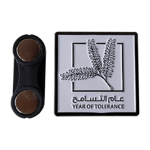 Load image into Gallery viewer, Year of Tolerance Badge with Gift Box 1 Pcs Pack (3 Branches)