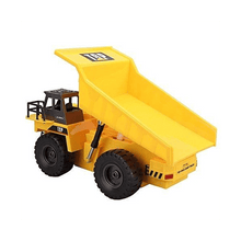 Load image into Gallery viewer, 6 Channel RC Remote Control Construction Dump Truck with Lights & Sounds - SquareDubai