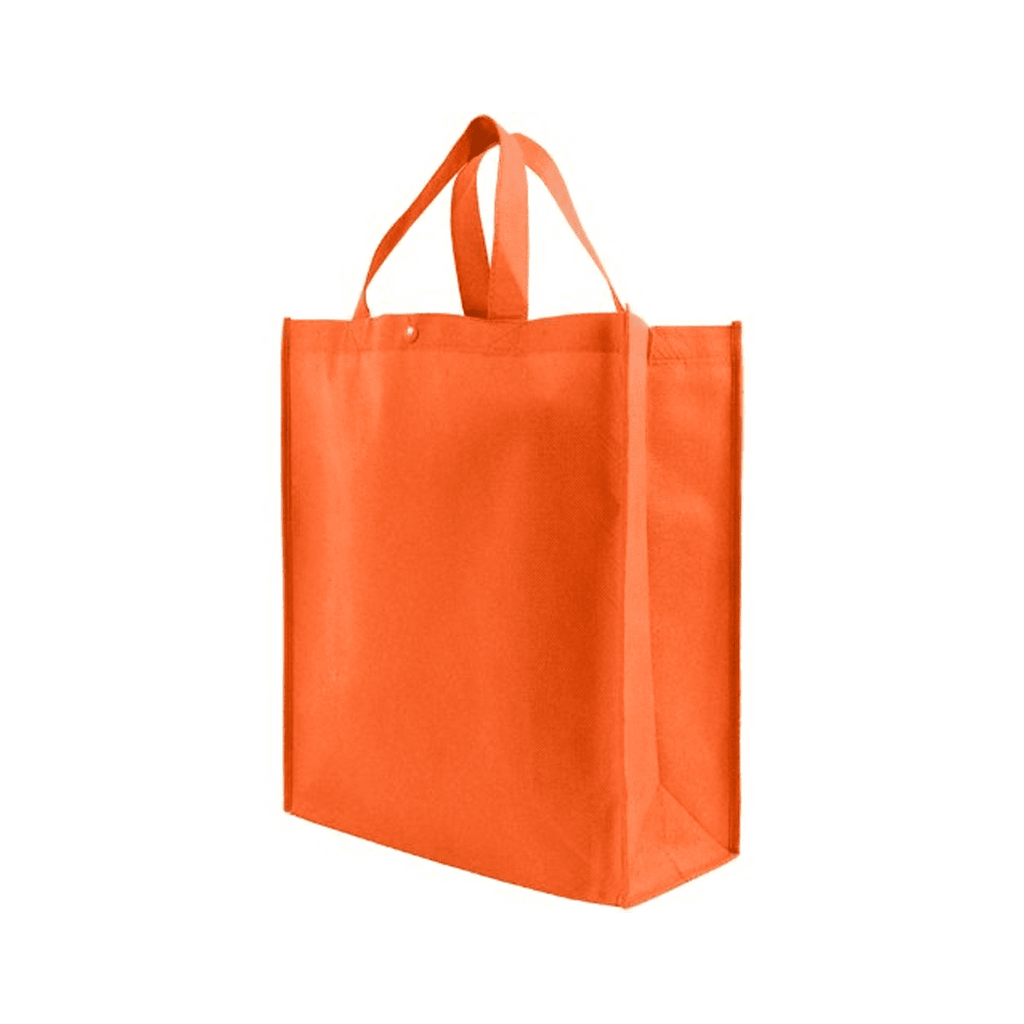 Non Woven Grocery Tote Bags Large 40x36x9 cms (Pack of 10)