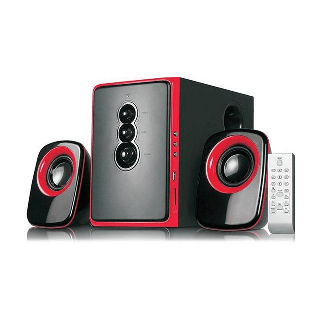 Ismart IS-955BT 2.1 Channel Multimedia Bluetooth Speaker