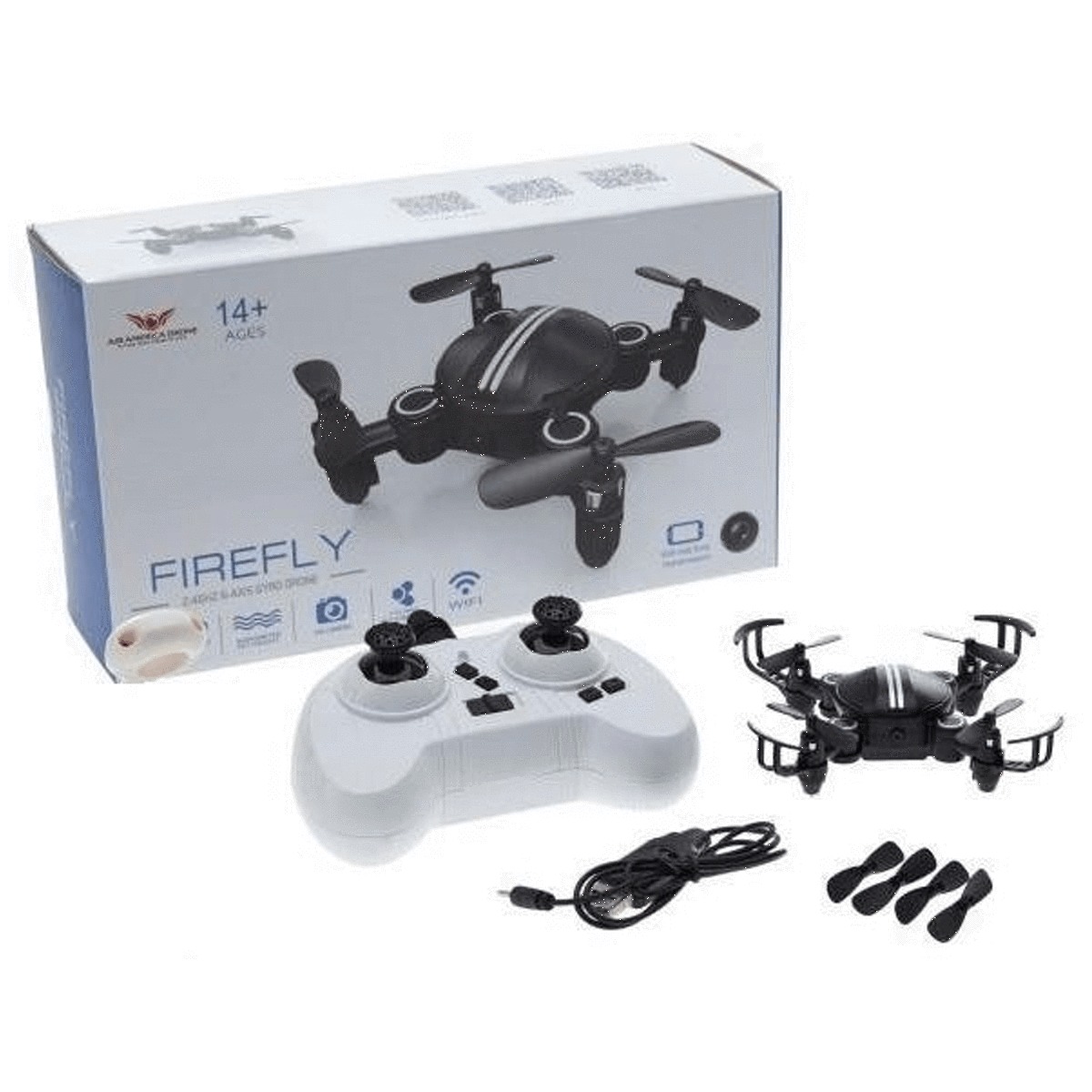 Firefly Mini Drone Black With Box