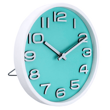 Load image into Gallery viewer, Zhanjiang Z Natural Wood Table Clock (Teal)