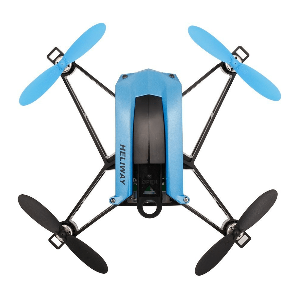 HELIWAY High Speed Selfie Drone Racing Quadcopter Blue
