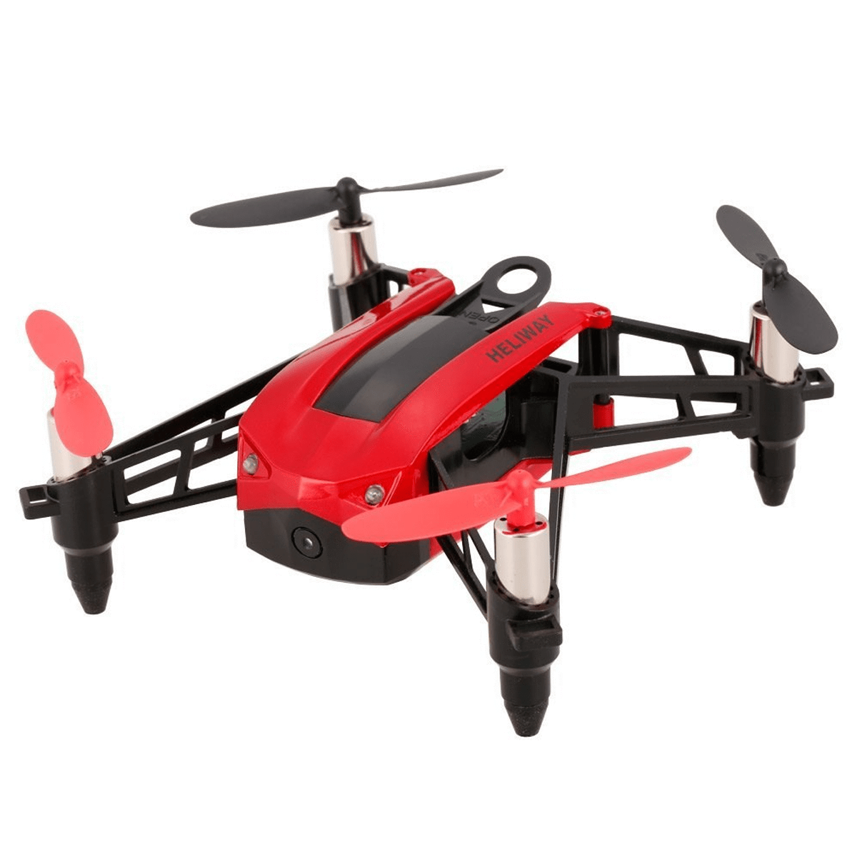 HELIWAY High Speed Selfie Drone Racing Quadcopter Red