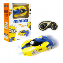 Load image into Gallery viewer, Minions Wall Climber Remote Control Car