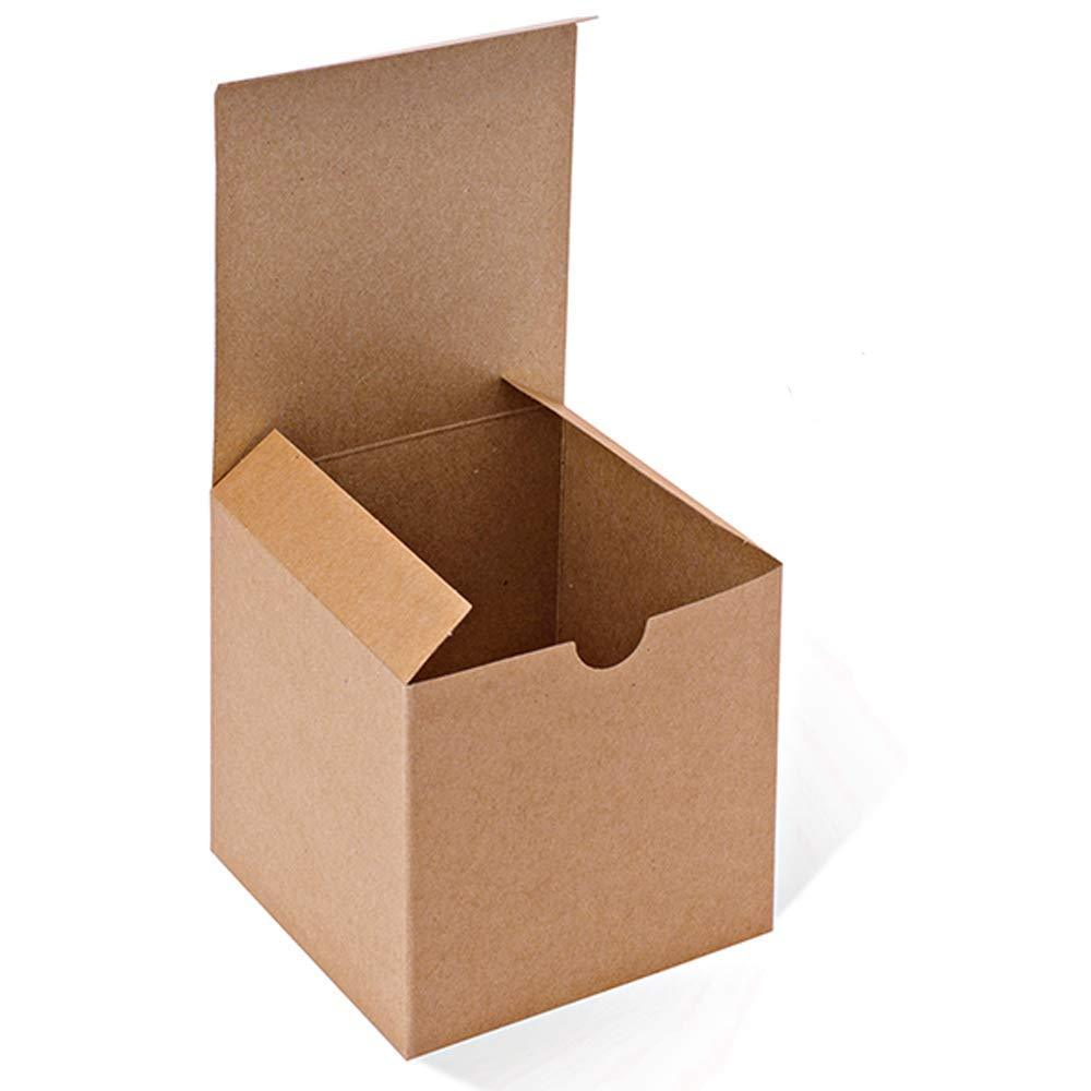 Kraft Cardboard Gift Boxes with Lids for Mugs
