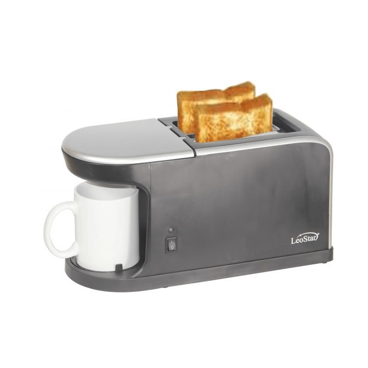 Leostar Morning Combo Toaster & Coffee Maker with mug