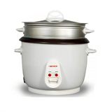 Nevica Rice Cooker  1.8 Liter White