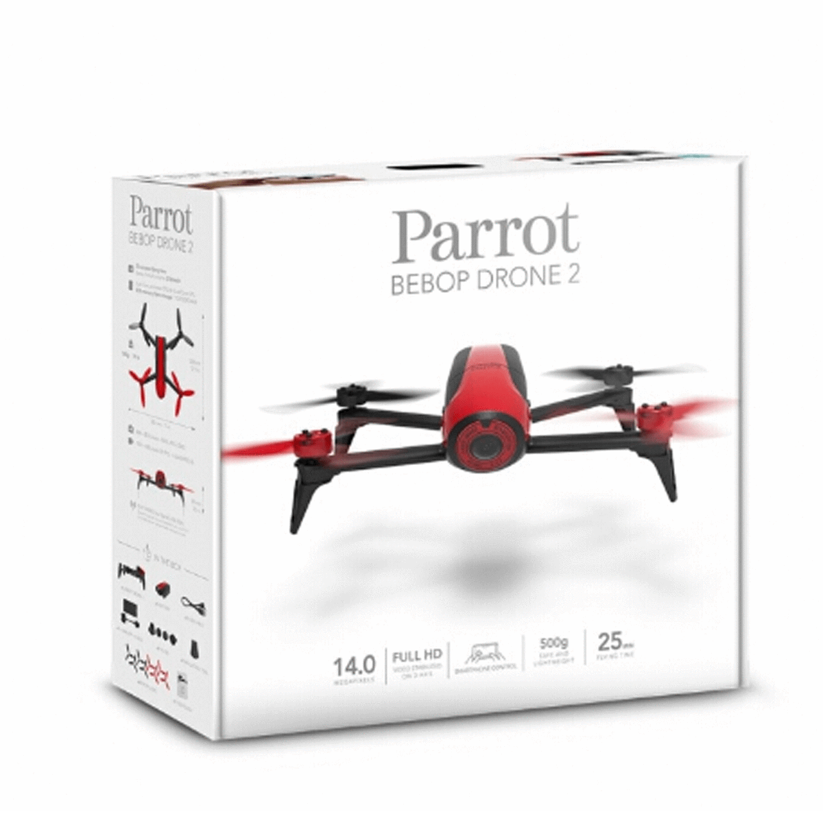 parrot bebop 2 drone In the box
