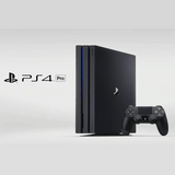 Sony PS4 Pro 1TB Console - Jet Black