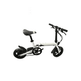 R10 Electric Bike - perfect substitute of Walking - Black / White