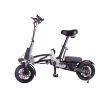 Load image into Gallery viewer, R12 36V 6A  Lightweight Lithium Battery Aluminum Alloy Folding Bicycle for Adults