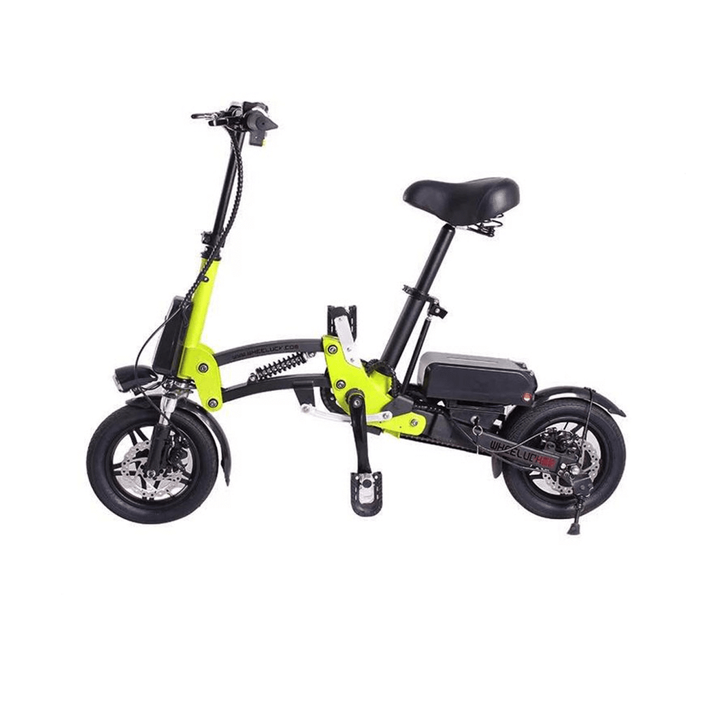 R12 36V 6A  Lightweight Lithium Battery Aluminum Alloy Folding Bicycle for Adults