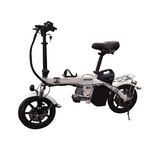 R9 Electric Bike 48V All Aluminum Alloy Frame E-Bike with Front Headlight