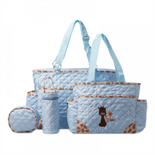 Load image into Gallery viewer, Night Angel 3018 Baby Bag Set Diaper Bag - Light Blue