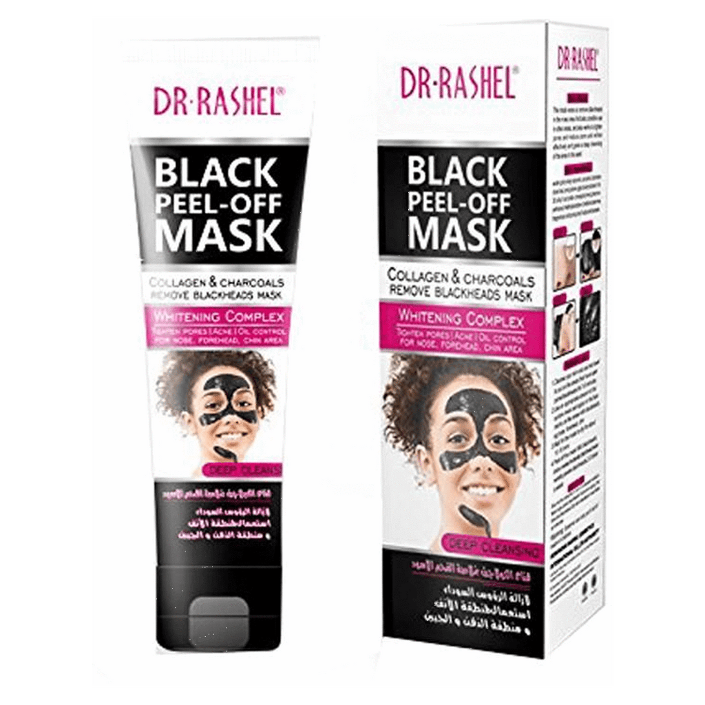 Women Black mask Nose Blackhead Remover Peel Off Whitening Facial mask