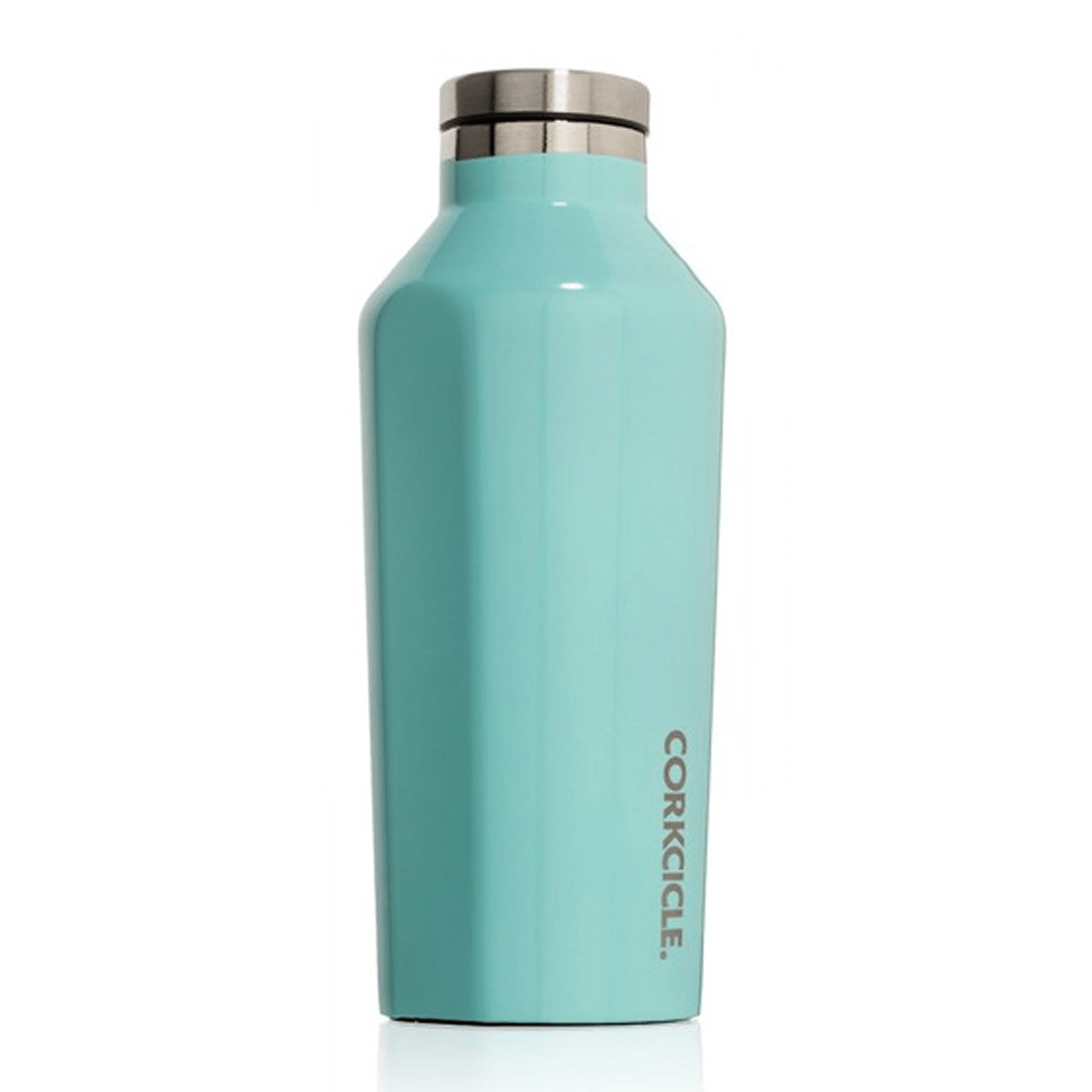 Corkcicle Canteen Vacuum Flask, Turquoise