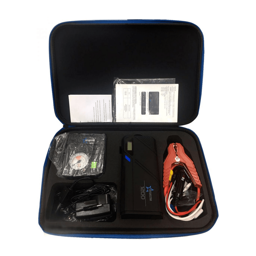 NO1 FutureStar Auto Car Jump Starter and All in One emergency Power Bank