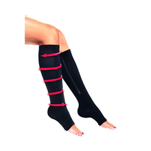 Load image into Gallery viewer, Zip Sox Compression Socks by BulbHead - Pair, L/XL  &  /S/M