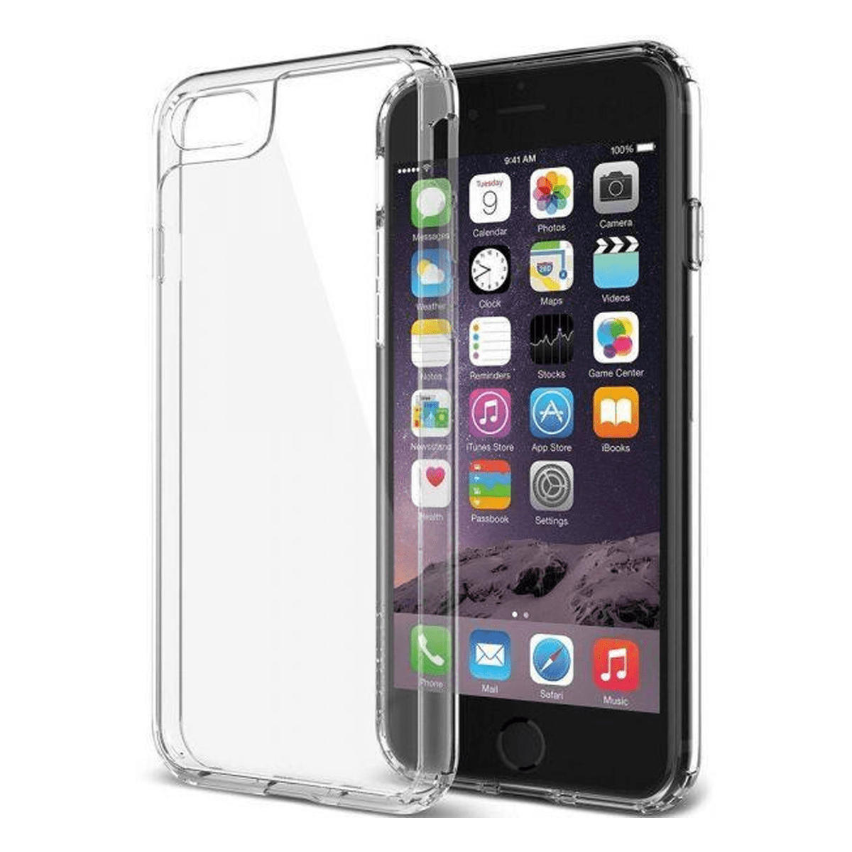 iPhone 7 case  transparent TPU silicone protection FOR iPhone7