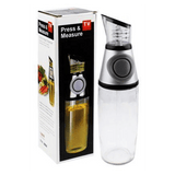 Press And Measure Oil And Vinegar Dispenser  500ml