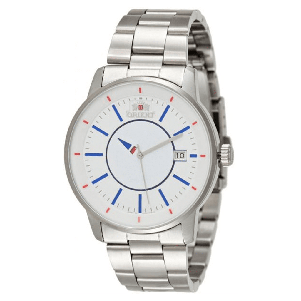 Orient Automatic White Dial Stainless Steel Band Watch for Men - SER0200F