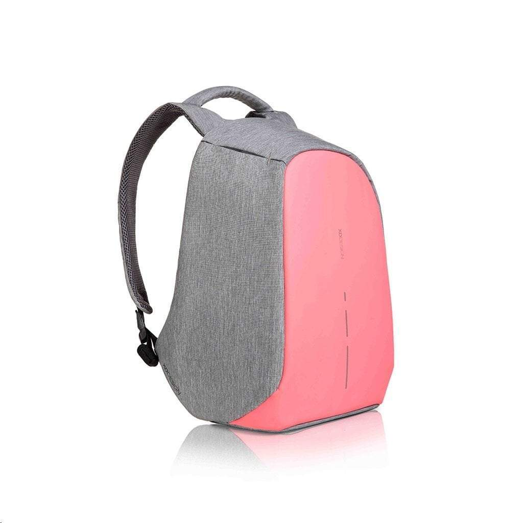 Bobby Compact Anti-Theft Backpack by XD Design, Coralette - SquareDubai