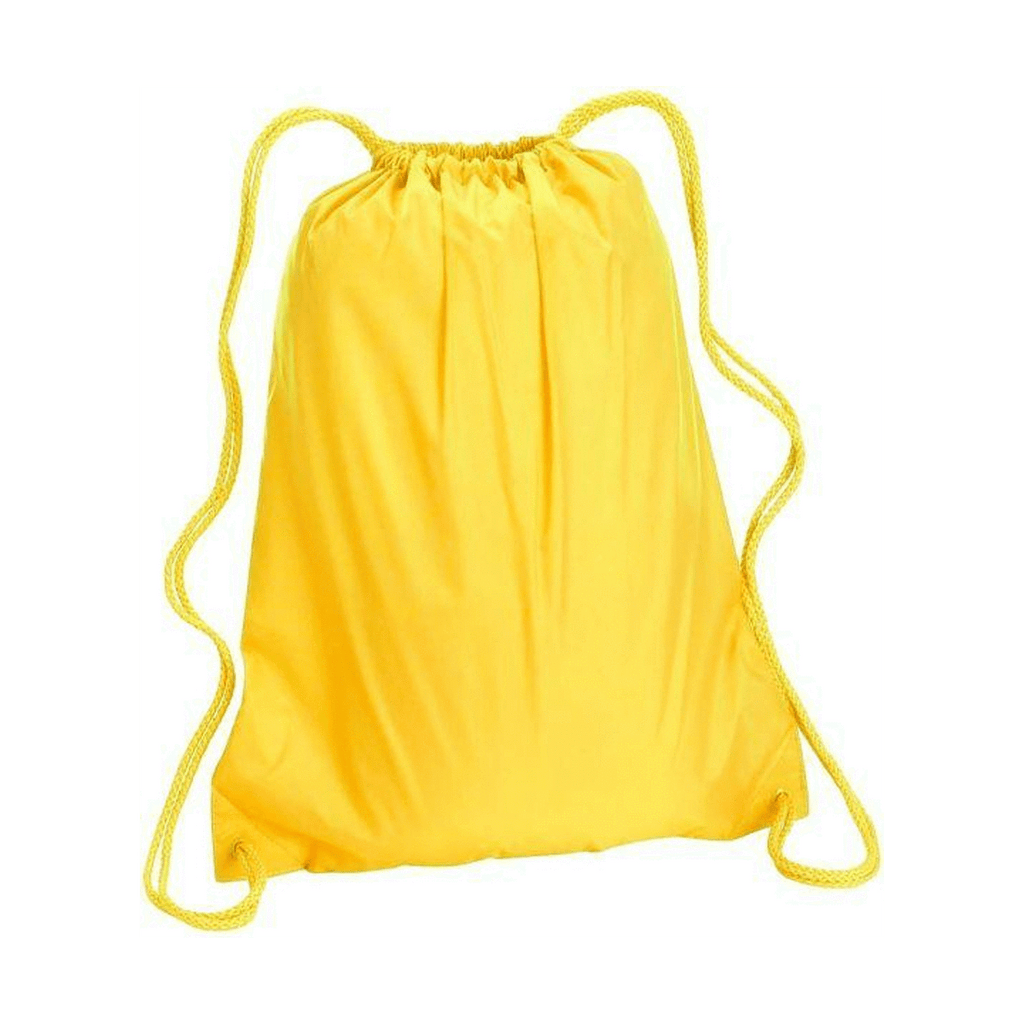 Durable Polyester Drawstring Tote Bags (Pack of 10) - SquareDubai