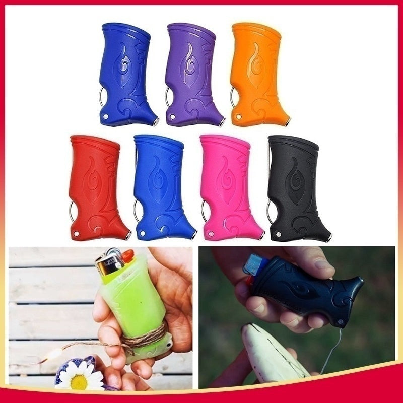 HORNET Ultimate All Inclusive Plastic Lighter Tool Includes Lighter Case Retractable Toker Poker